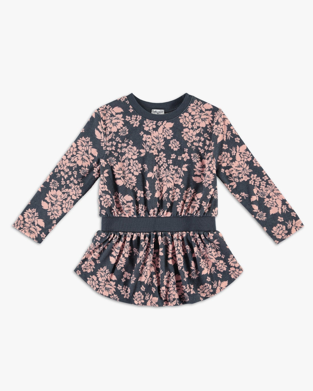 Home  Girl Floral Sweatshirt Dress. Skip to the end of the images gallery 3781b7d1b