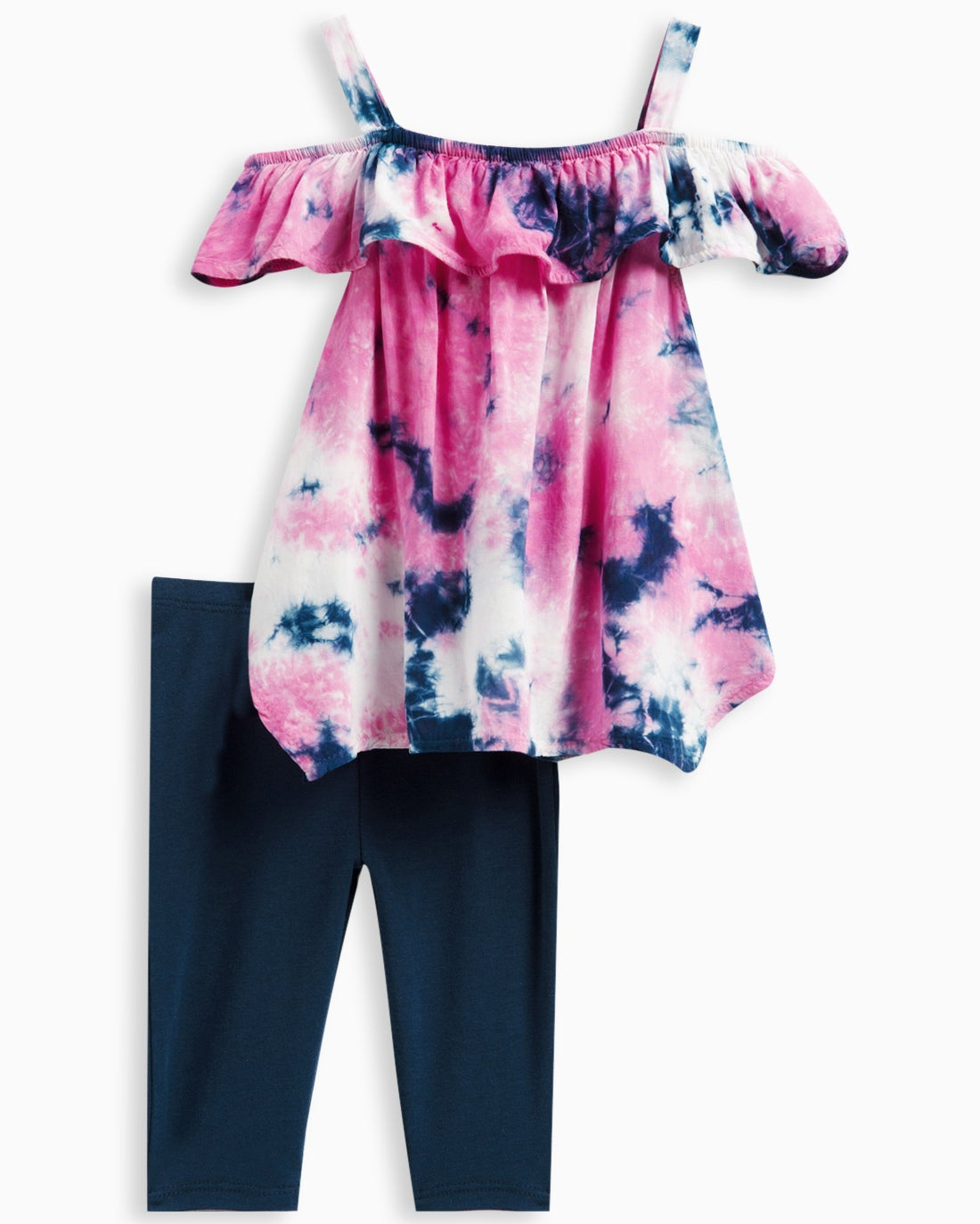 Splendid Little Girl Allover Tie Dye Voile Set
