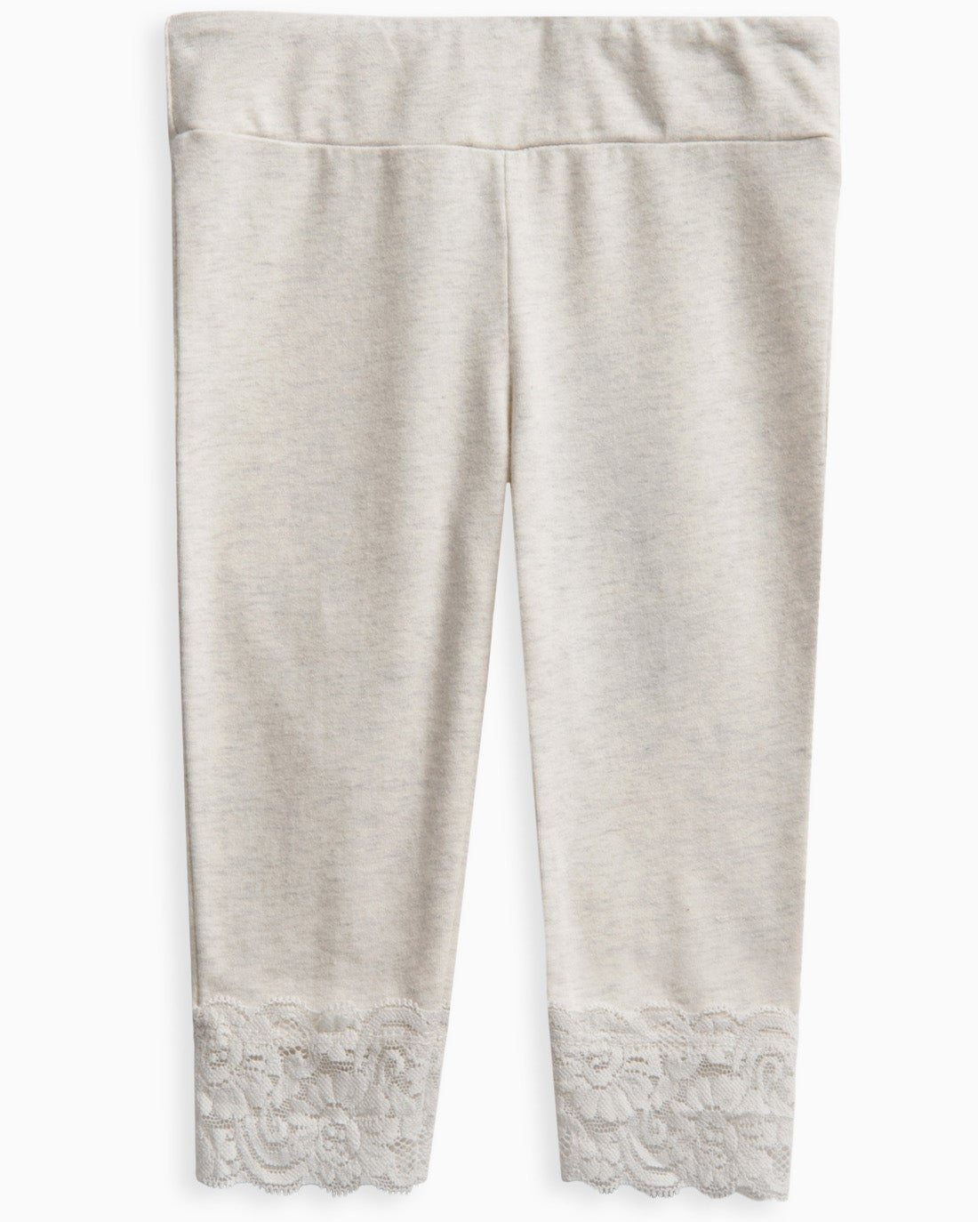 The Baby Girl Legging with Lace Bottom is perfectly updated withsartoriallace details that add an easy elegant finishto her look. Lace trim Stretchy elastic waistband