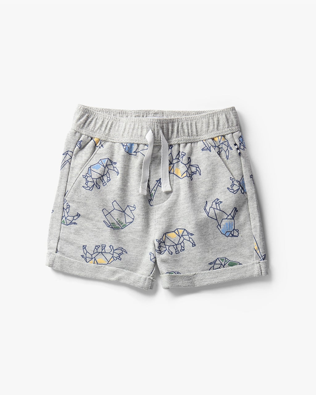 Splendid Girl Origami Brushed French Terry Short