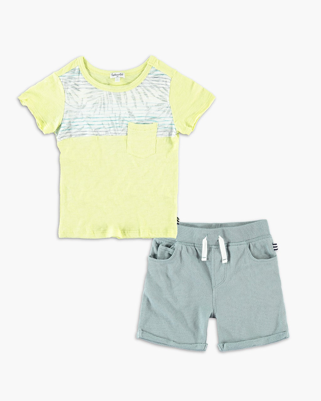 Splendid Baby Boy Printed Tee Set