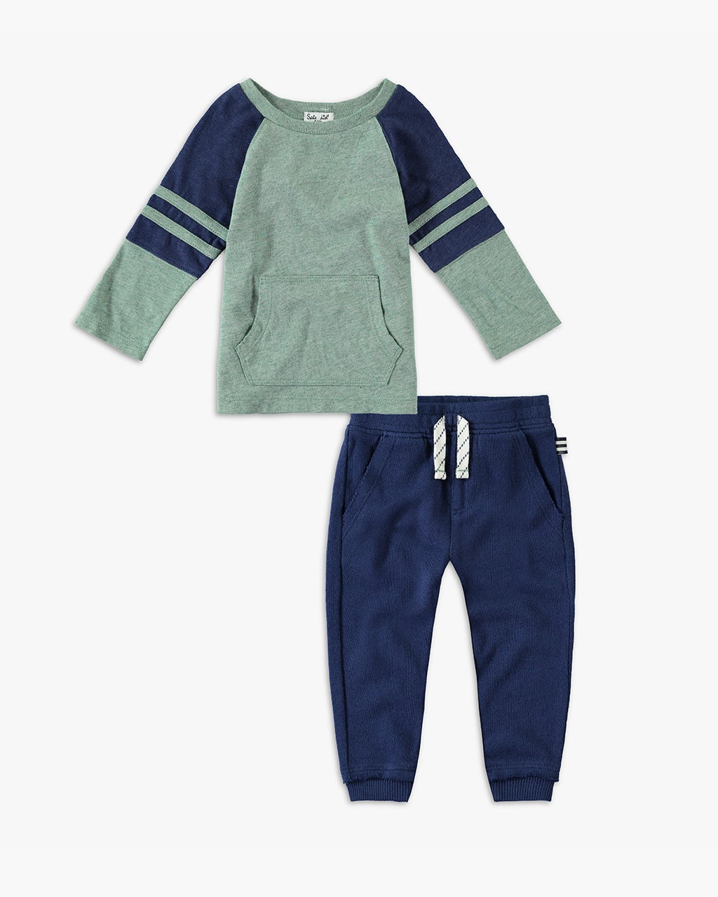 Splendid Baby Boy Raglan Long Sleeve Set