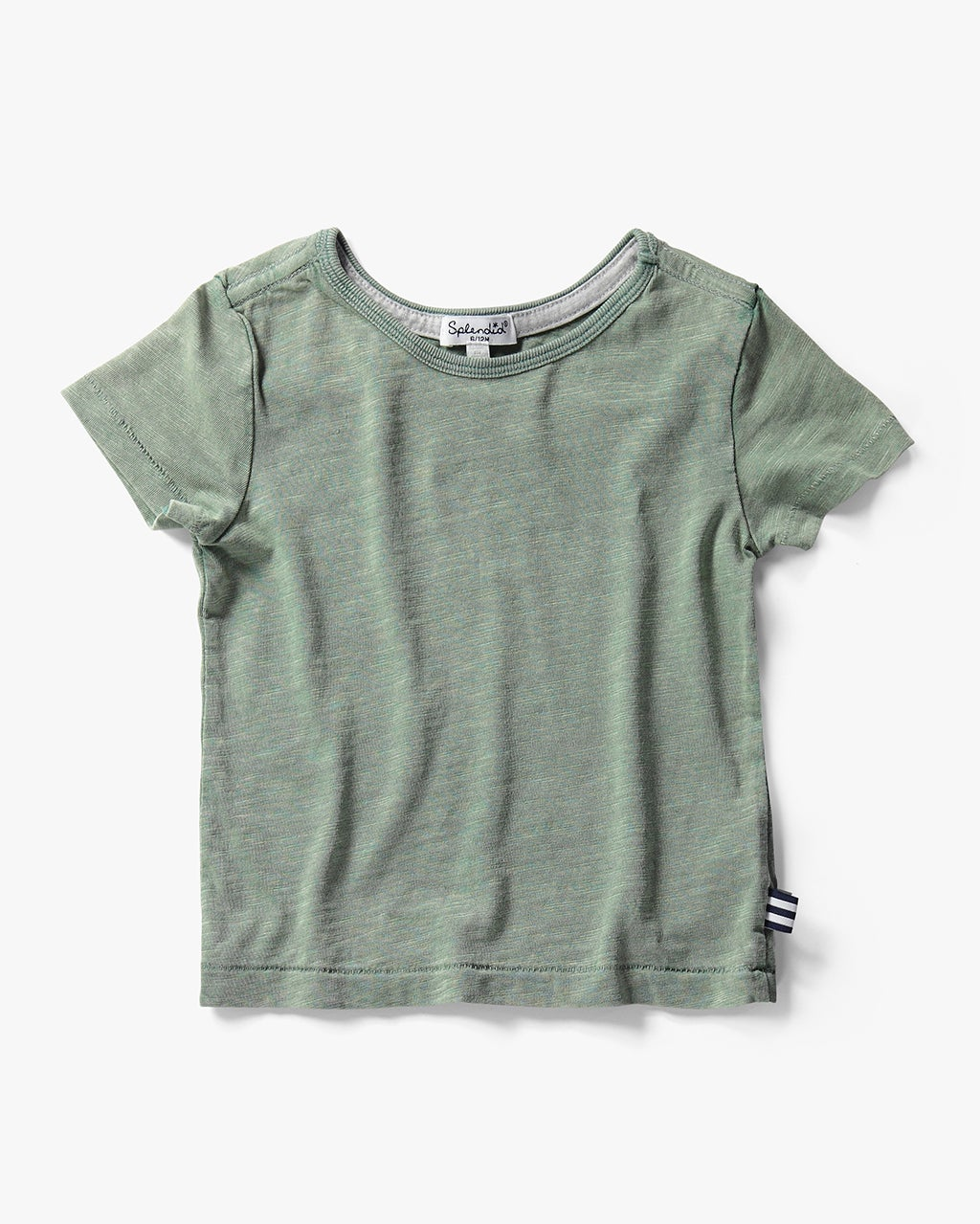 Splendid Girl Washed Slub Jersey Tee