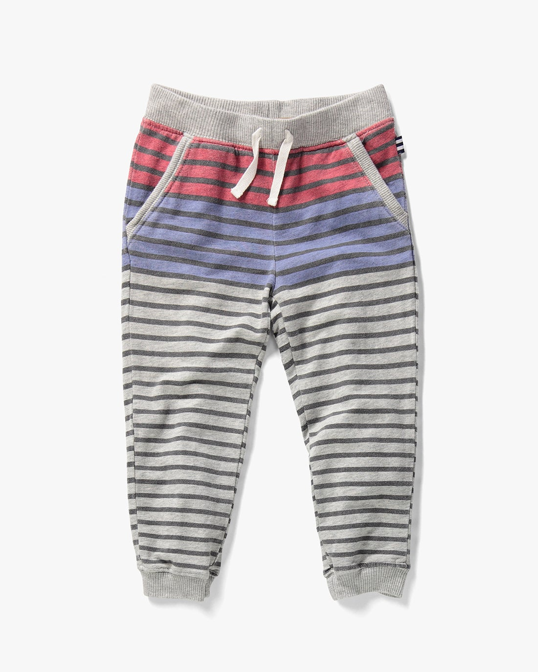 Splendid Little Boy French Terry Stripe Print Pant