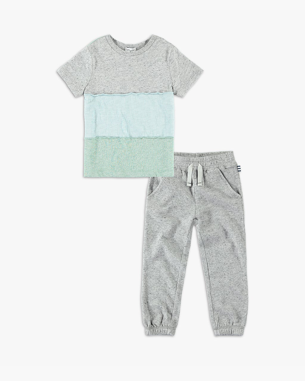 Splendid Little Boy Color Block Tee Set