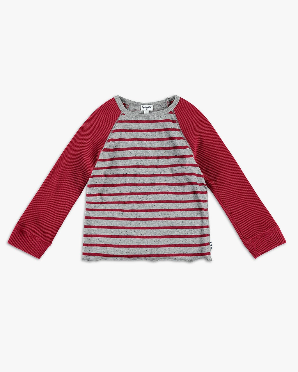 Splendid Little Boy Stripe Raglan Tee