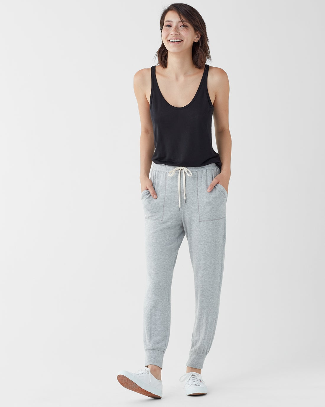 Splendid Women's Super Soft Brushed French Terry Jogger
