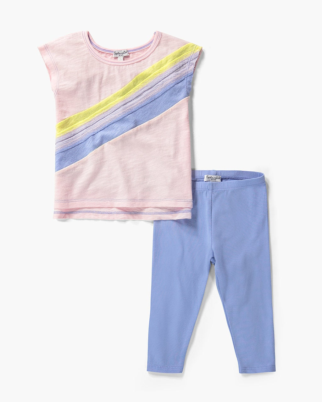 Splendid Baby Girl Rainbow Top Set