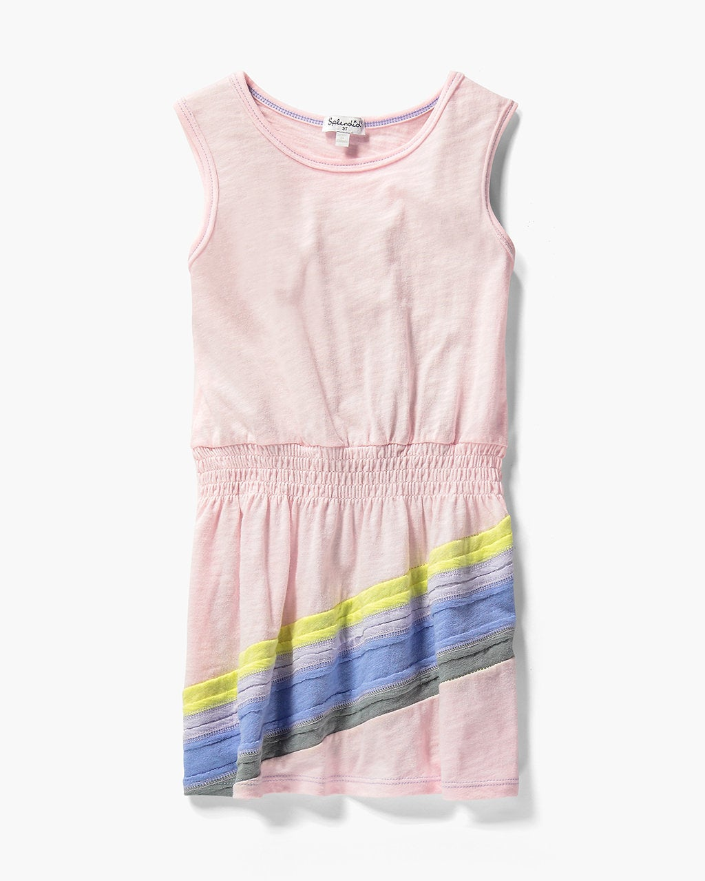 Splendid Little Girl Rainbow Dress