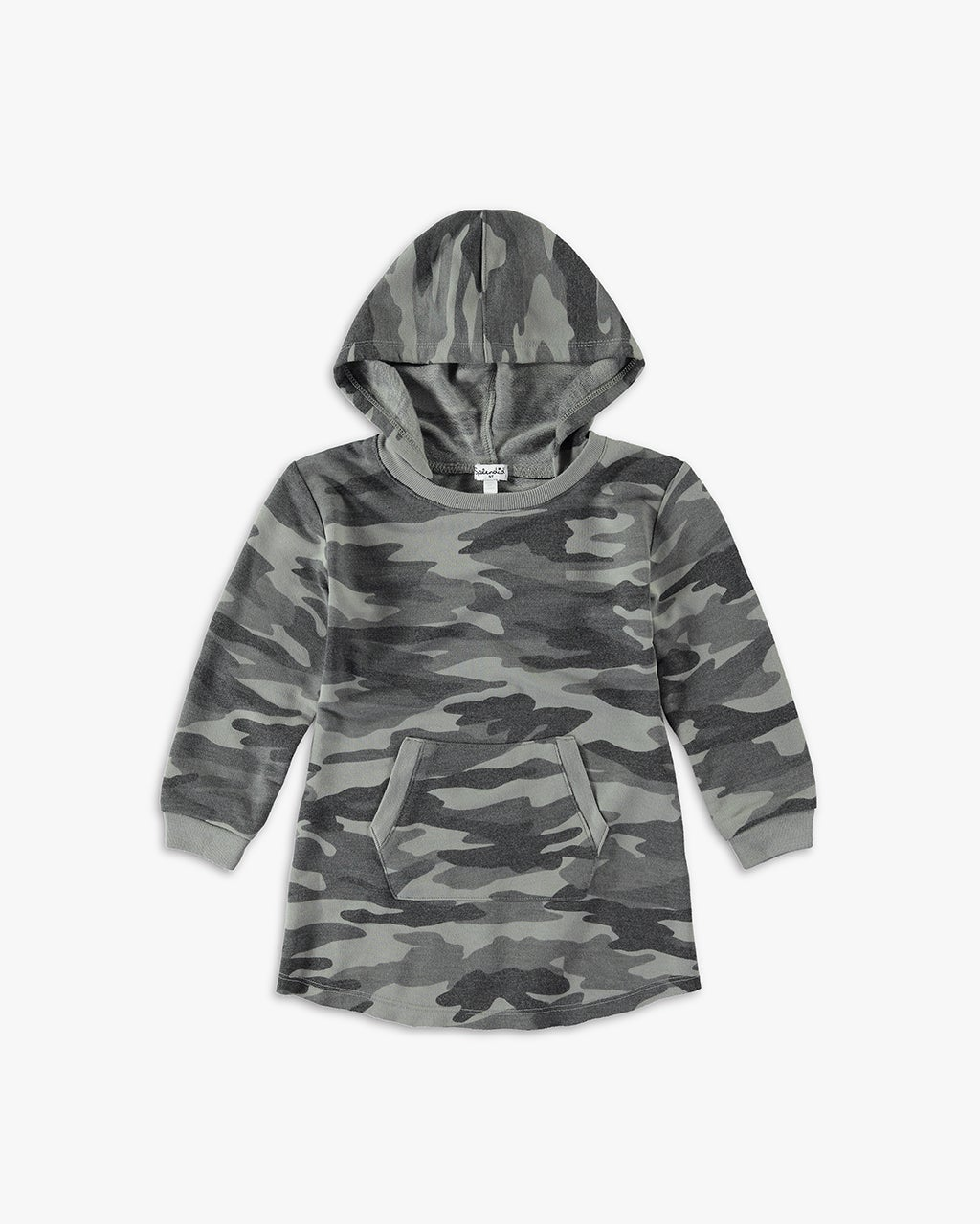 Splendid Little Girl Camo Dress with Hood