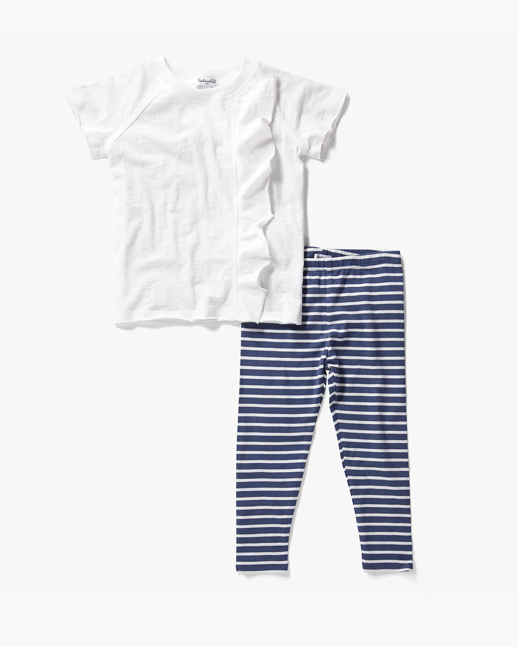 Splendid Little Girl Stripe Legging Set