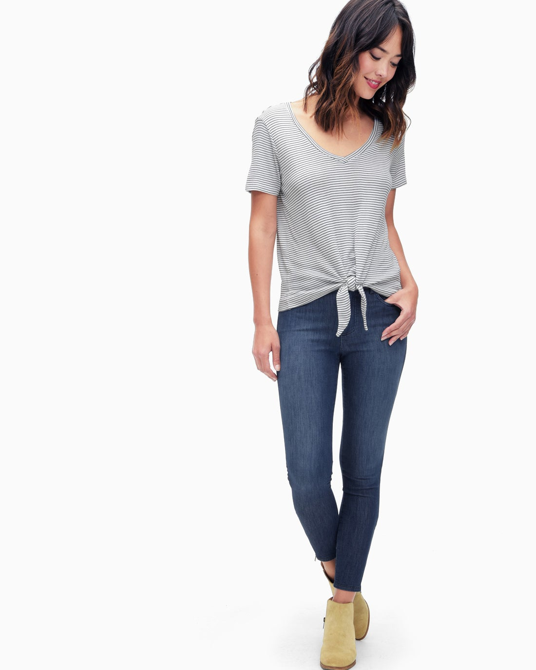 Splendid Women's Indigo Four Pocket Skinny Pant