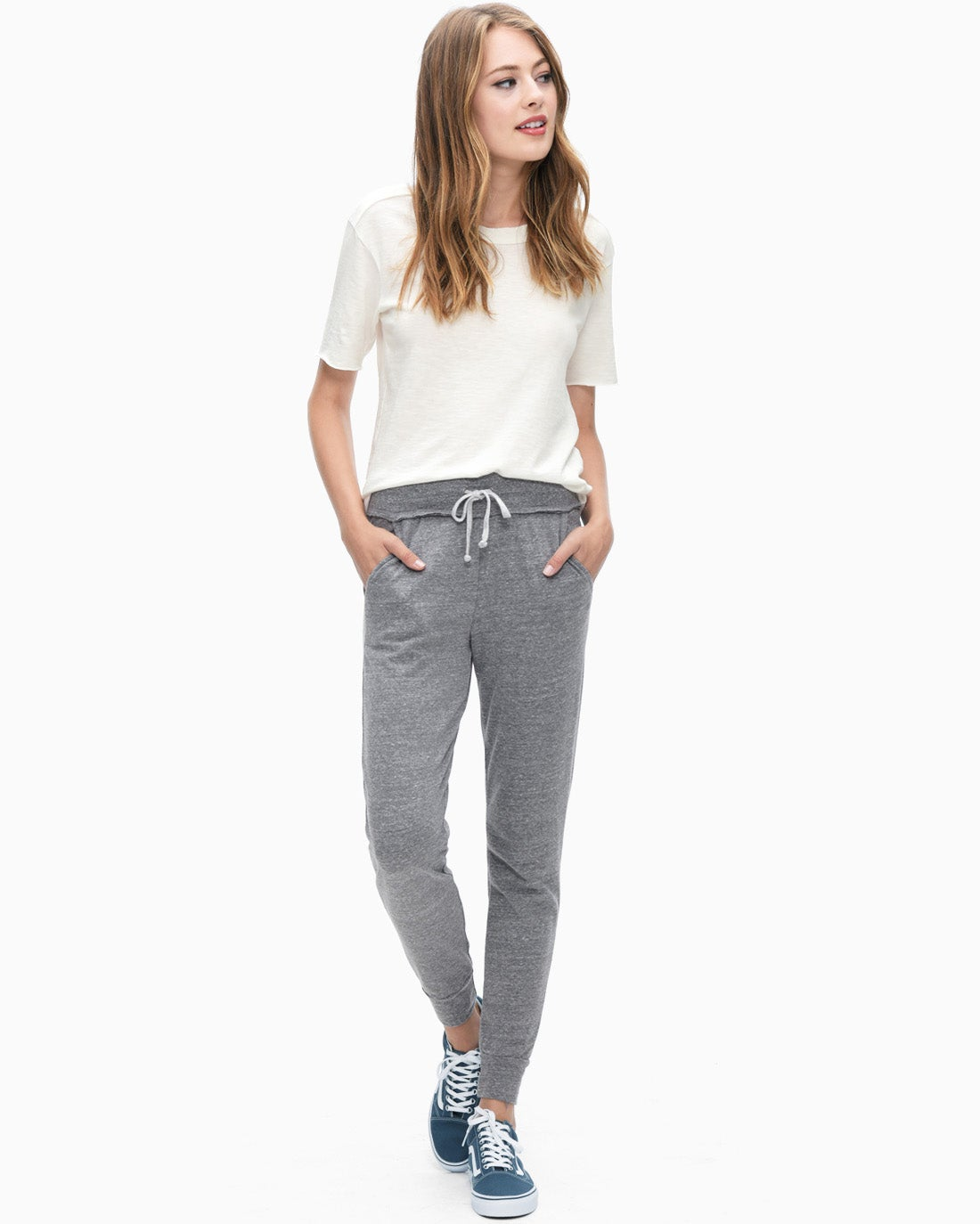 Splendid Women's Active Jogger Heather Grey