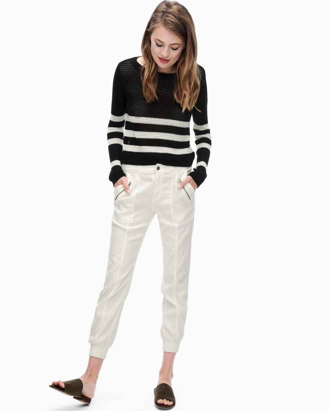 Splendid Women's Linen Twill Pant