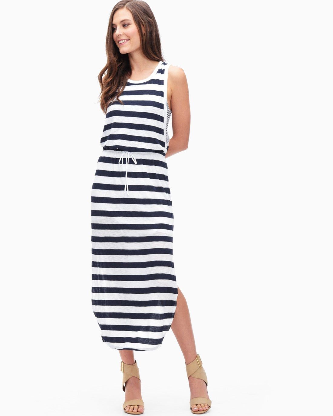 Splendid Women's Pines Ruby Stripe Maxi Dress