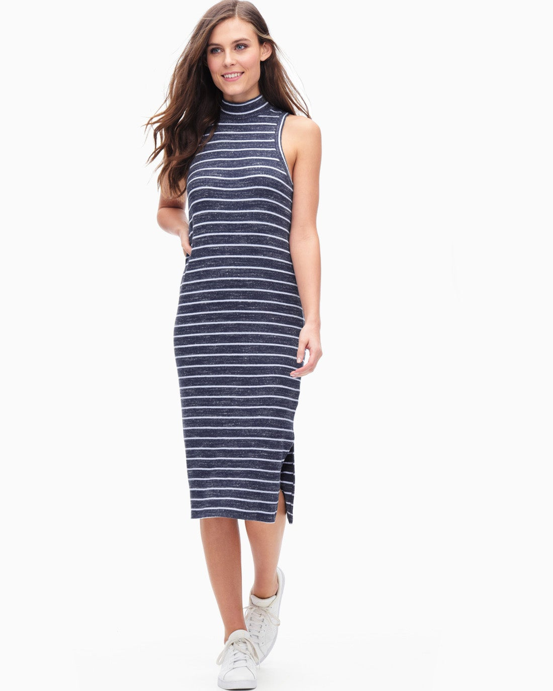 Splendid Women's Striped Rib Dress