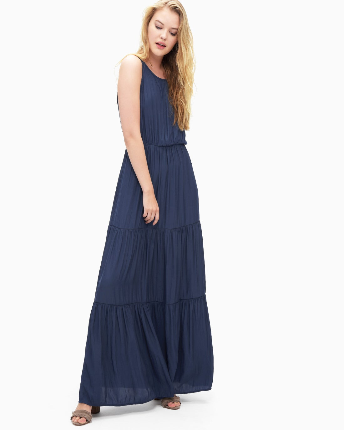 Splendid Women's Tiered Maxi Dress
