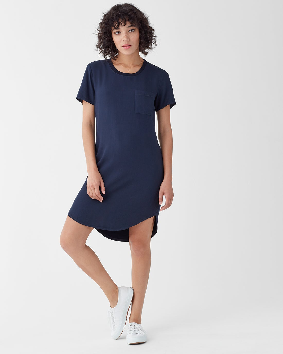 Splendid Women's Pocket Tee Dress