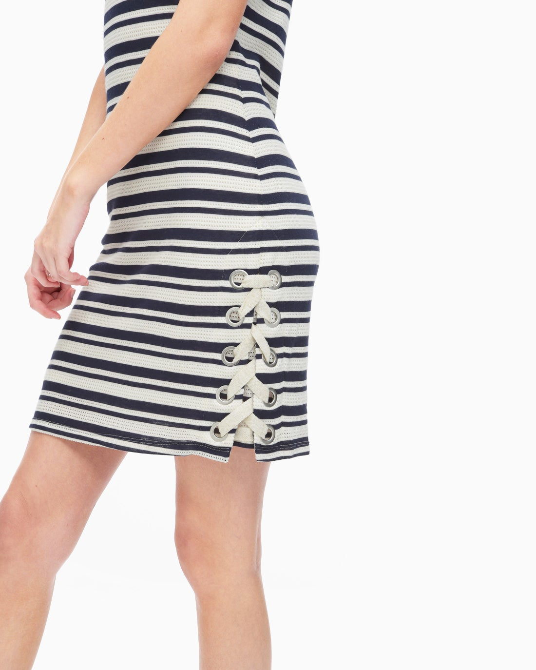 Splendid Women's Topsail Stripe Bodycon Dress