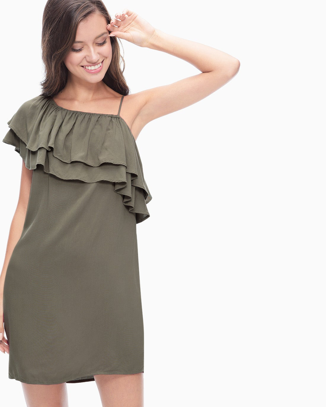 Splendid Women's One Shoulder Dress