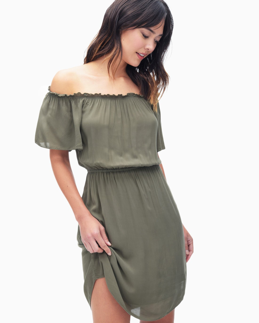 Splendid Women's Off Shoulder Dress