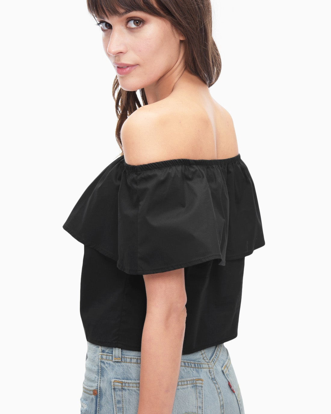 Splendid Women's Tropic Off Shoulder Top