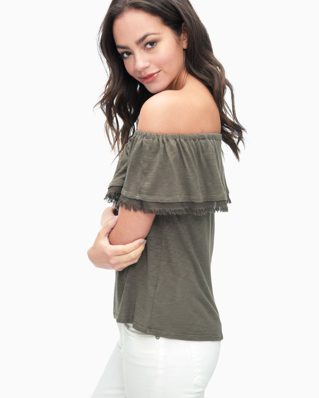 Splendid Women's Senorita Off Shoulder Top
