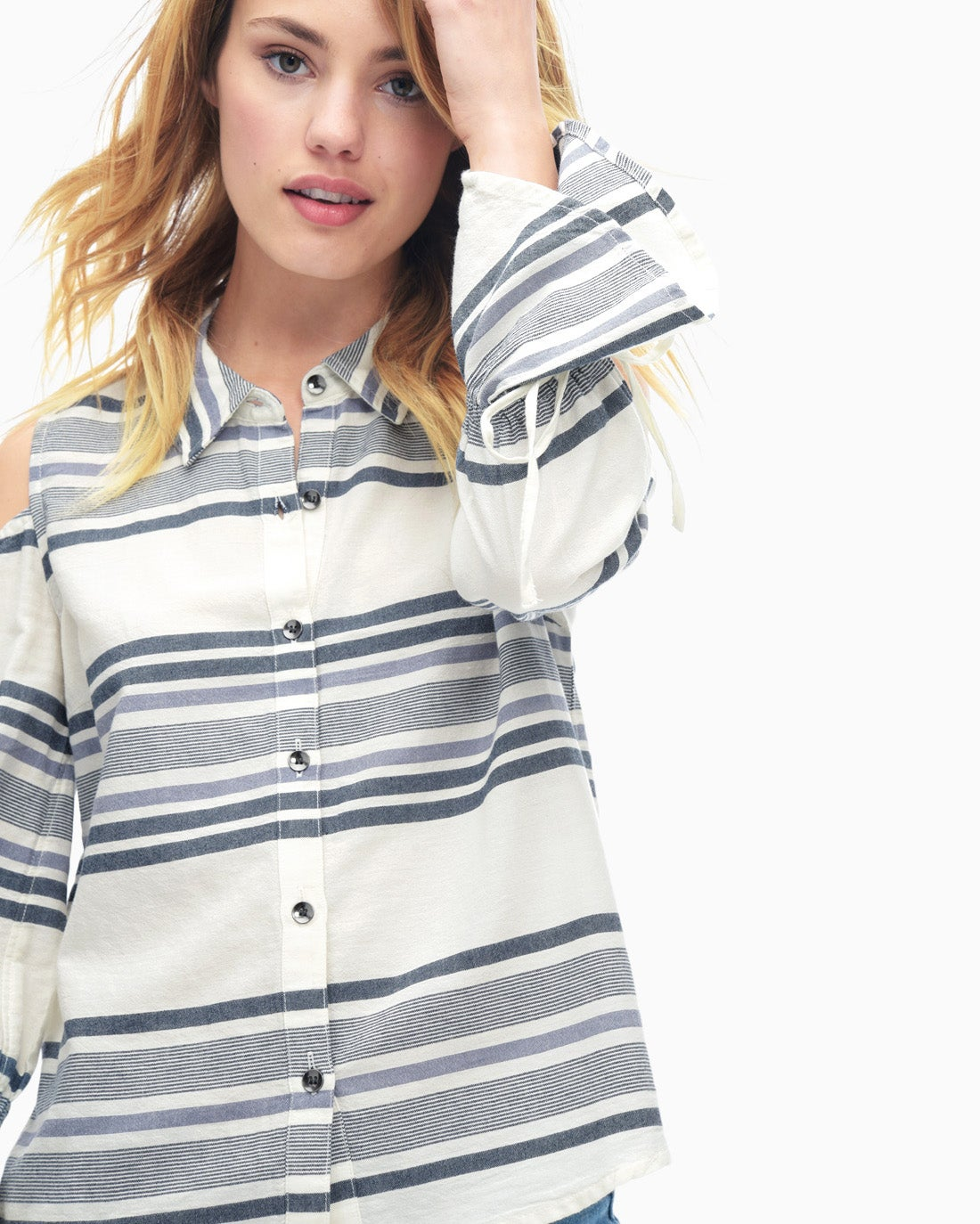 Splendid Women's Traveler Stripe Shirt