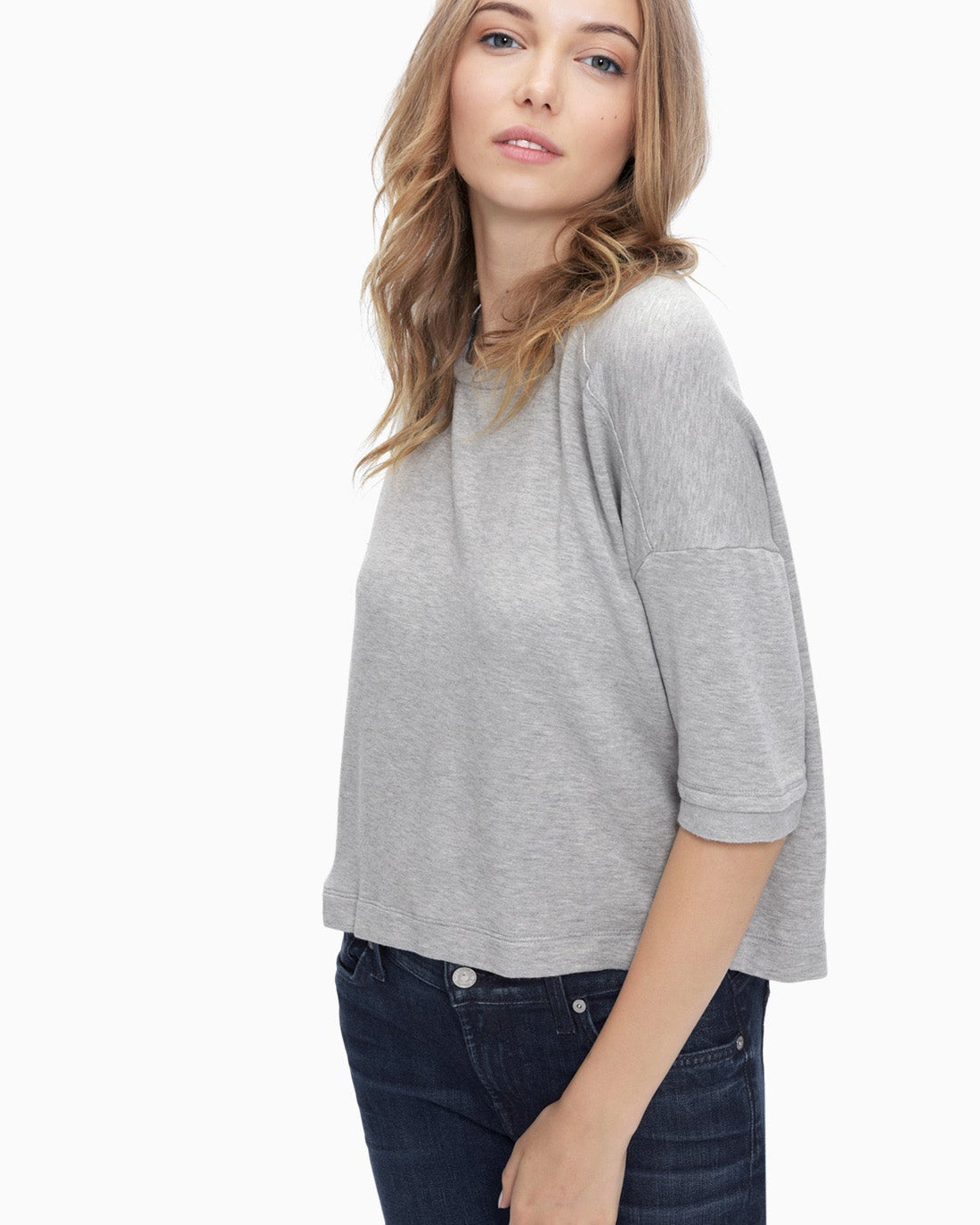 Splendid Women's Super Soft Brushed French Terry Oversize Tee