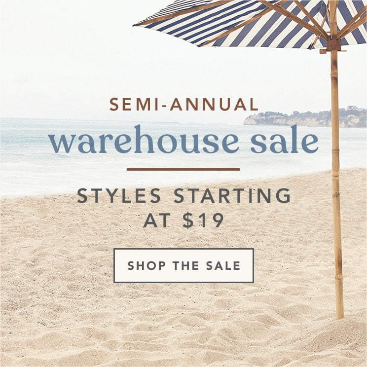 Shop Warehouse Sale