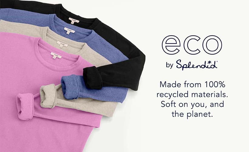 eco: recycled + sustainable
